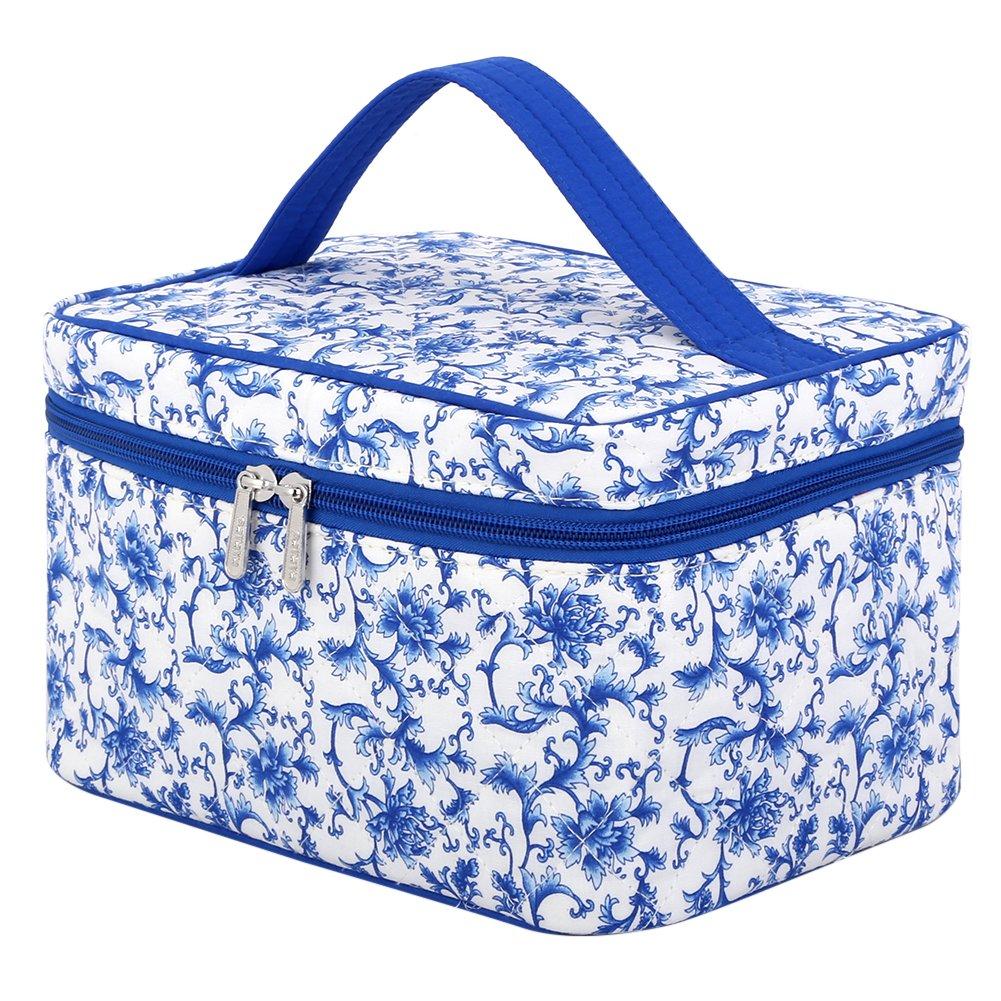 ec5dd09079d7 Travel Makeup Organizer, Pataya Chinese Style Makeup Bag Exquisite Cute  Toiletry Bag Organizer for Girls...