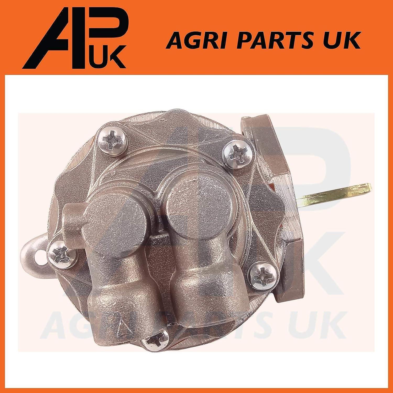 APUK NEW Fuel Pump Lift Pump /& Gasket Compatible with Fordson Dexta Super Tractor 957E9350B Ford