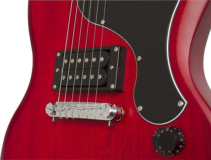 Epiphone SG-Junior Player Pack (230V) - Pack guitarra eléctrica, color negro (Amazon Exclusivo): Amazon.es: Instrumentos musicales