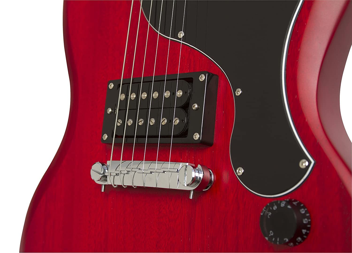 Epiphone SG-Junior Player Pack (230V) - Pack guitarra eléctrica, color rojo: Amazon.es: Instrumentos musicales