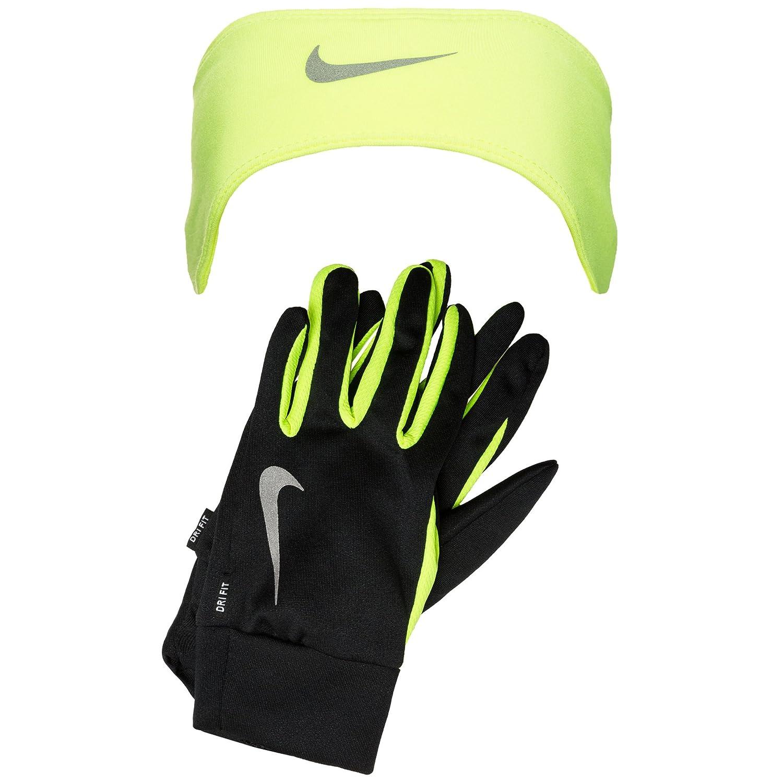 Nike Running Dry Damen Stirnband und Handschuhe Schwarz um 28,00 € statt 28,00 €