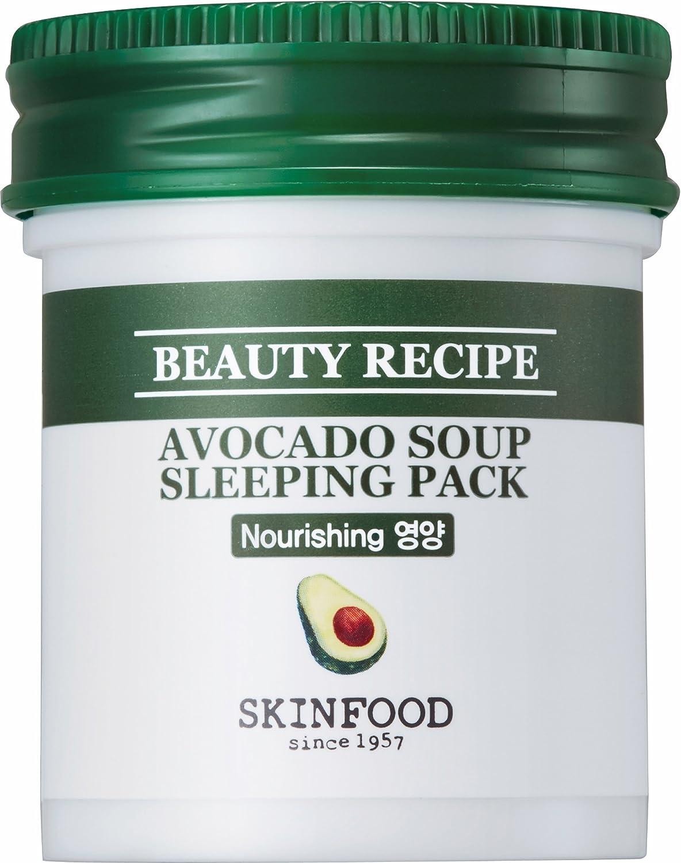 Skinfood, Beauty Recipe Avocado Soup Sleeping Pack, 88 ml: Amazon.es: Belleza