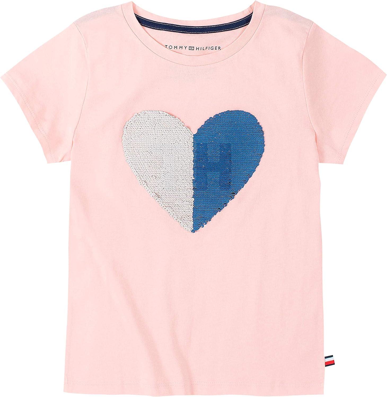 Tommy Hilfiger Girls Flippable Sequin Tee Shirt