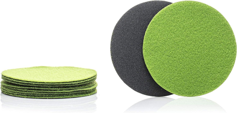 P320 /Ø 3 inch//Pack of 10 Discs GP13303 GP-PRO100 Medium Grade Sanding Disc for Glass Silicon Carbide Abrasive Disc