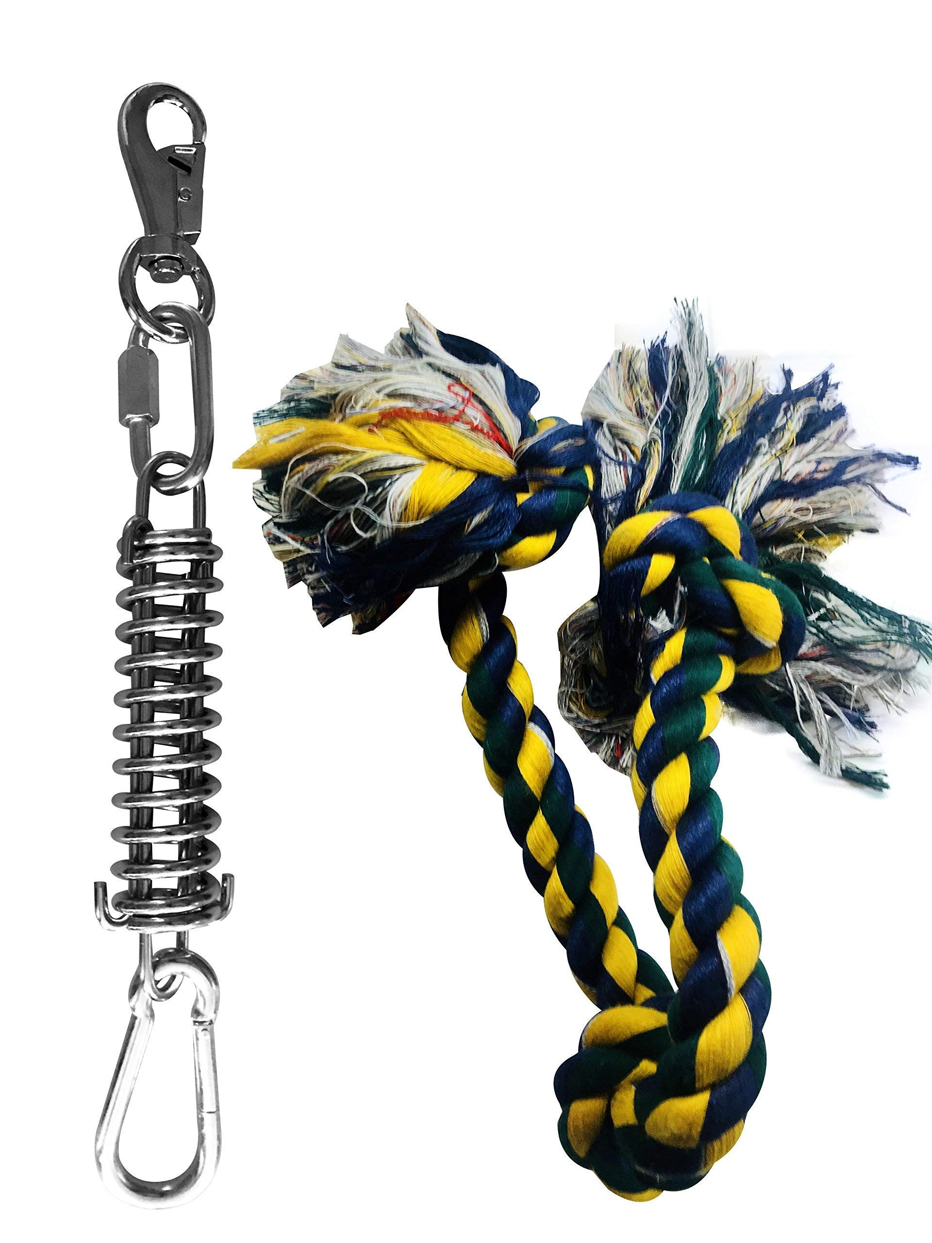 SoCal Bully Pit Bull Spring Pole - (1) Dog Conditioner - Muscle Builder - $15 Tug Rope Included!- Fun for all Breeds! - Priority mail shipping! by SoCal Bully