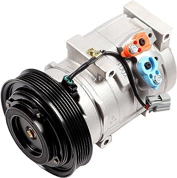 2003 2004 2005 2006  Acura MDX V6 3.5L AC A//C Compressor Condenser Kit Fits