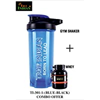 Gym Shaker with WHEY Protein Funnel(Combo)
