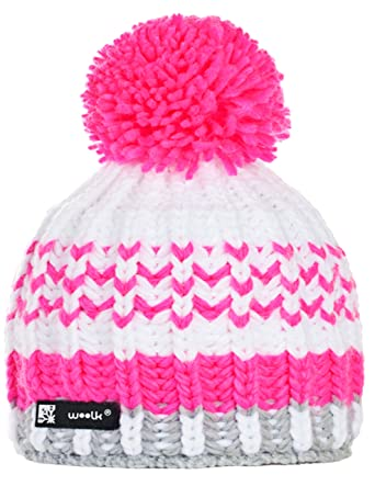28a8eb443c9 Knitted Wolly Beanie Lolly Ponpon Men s Women s Winter Warm Fashion SKI  Snowboard Hats (Lolly 93)  Amazon.co.uk  Clothing
