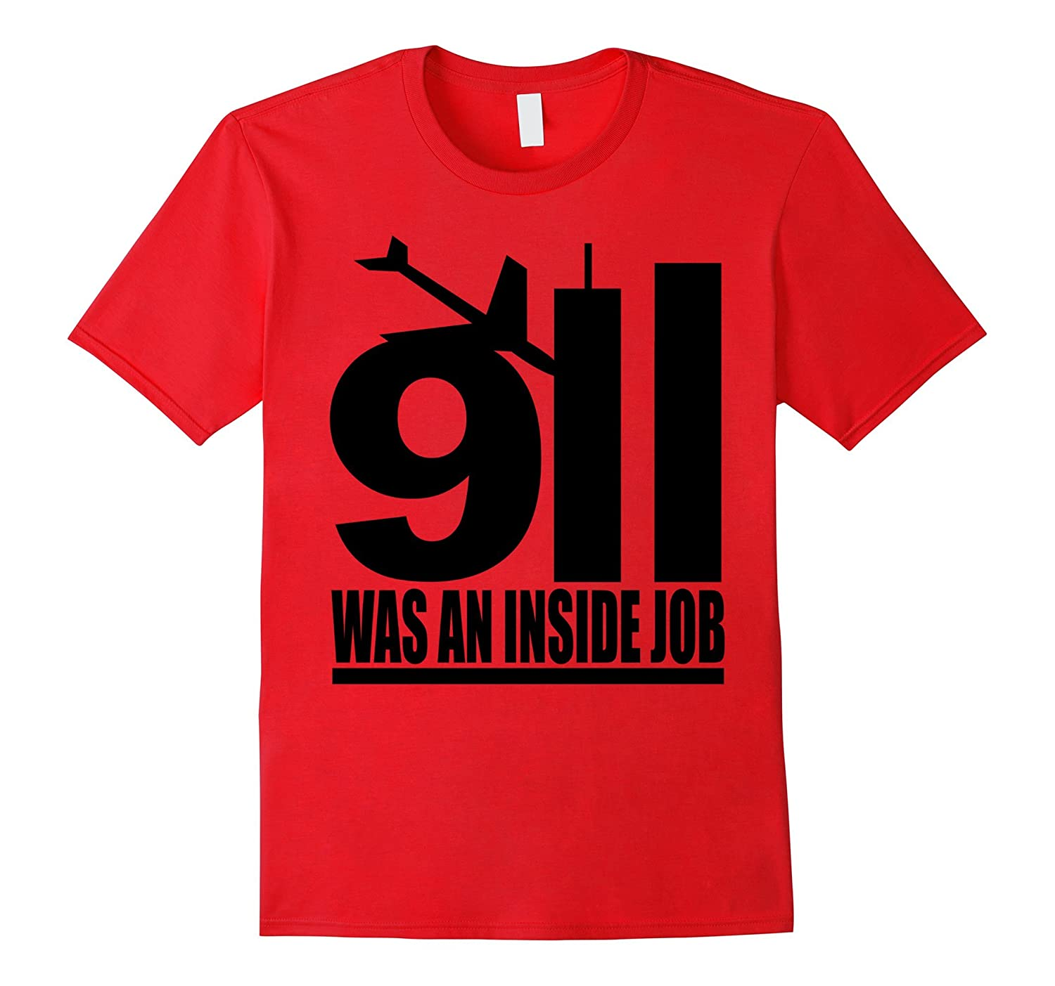 9/11 was an inside job black style T Shirt-TH