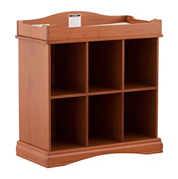 Storkcraft Beatrice 6 Cube Organizer/Change Table, Oak (Discontinued By  Manufacturer)