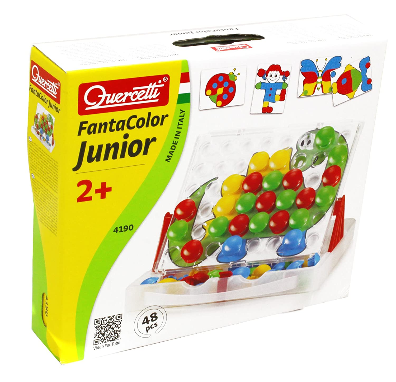 Quercetti Fantacolor Junior Pegboard Set