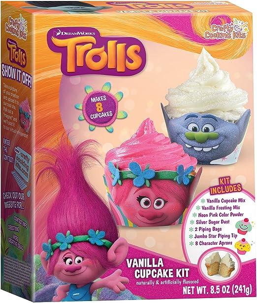 DreamWorks Trolls Cupcake Kit