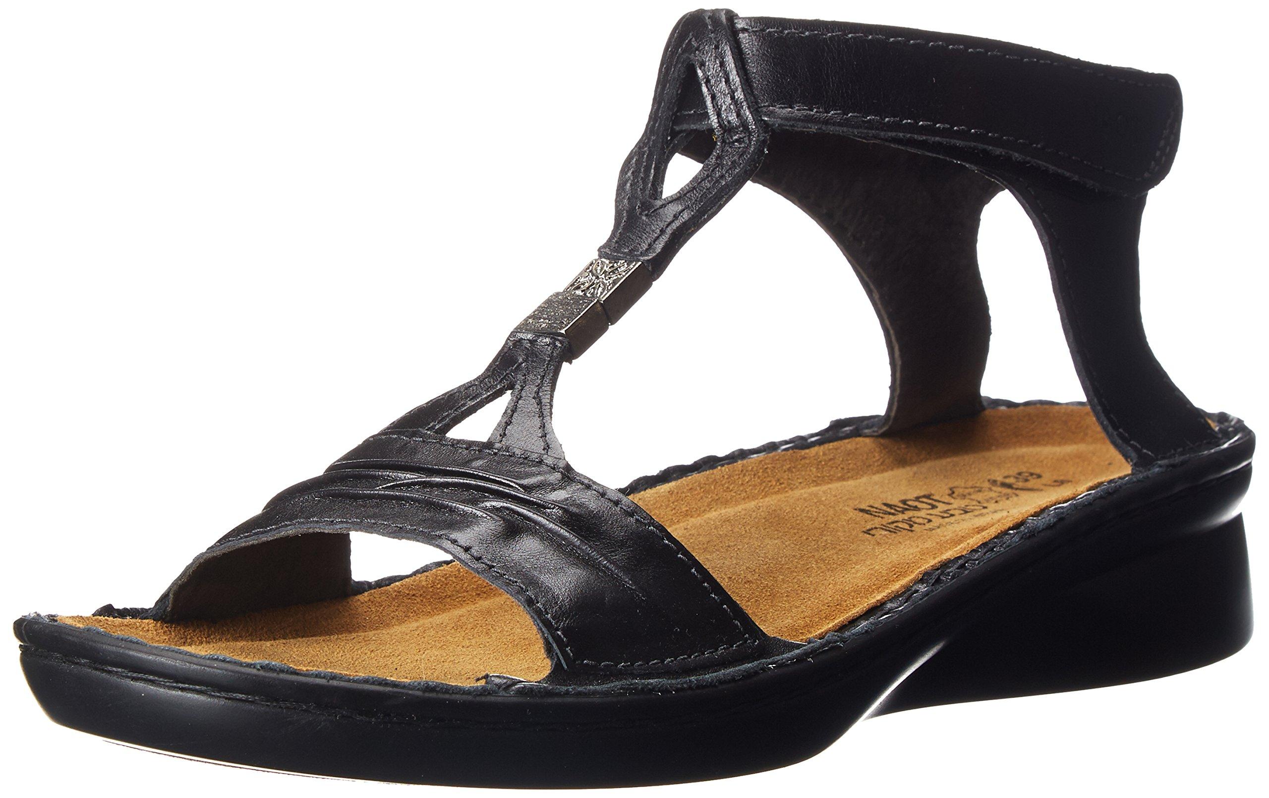 Naot Women's Cymbal Dress Sandal, Black, 40 EU/9 M US