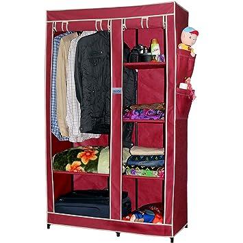 Elegant CbeeSo Portable Metal Frame Wardrobe Closet. (CB260 MR) EXTRA OFF