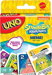 Mattel Games UNO: Bob Esponja Meme [Exclusivo de Amazon]