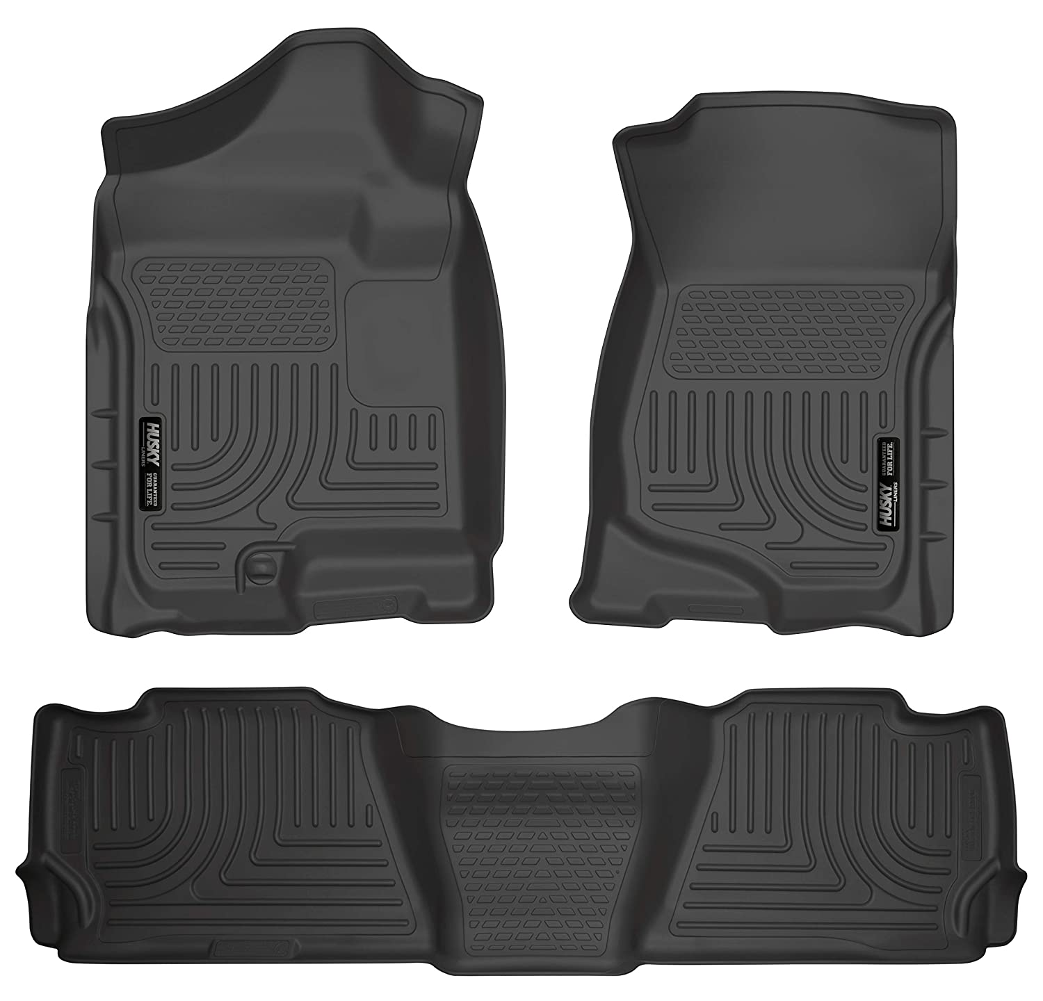 Husky Liners Front /& 2nd Seat Floor Liners Fits 07-14 Escalade//Tahoe//Yukon 98251