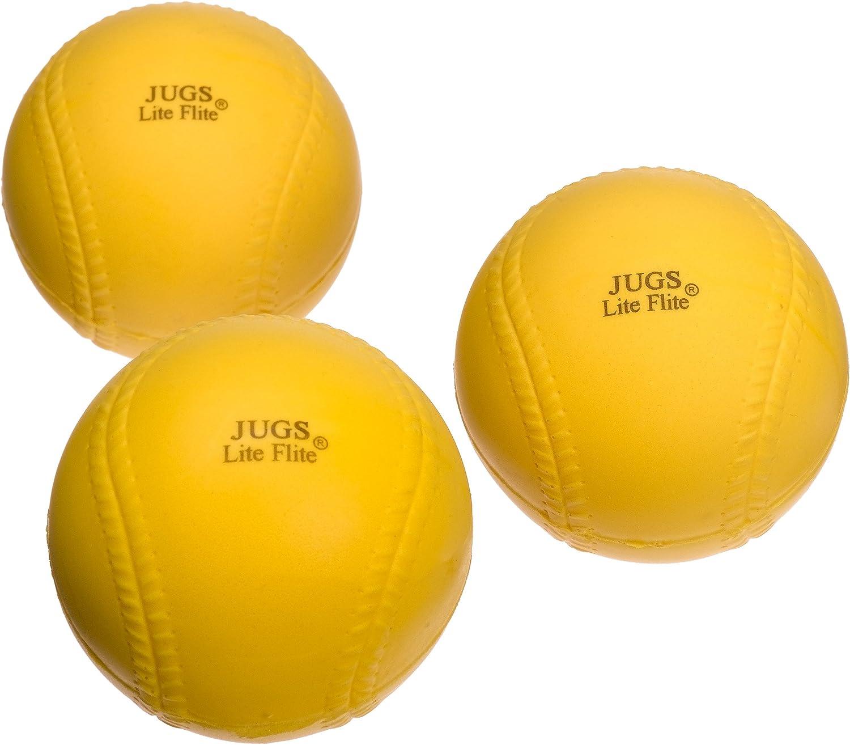JUGS Lite Flite Baseball Package of 12 balls B5000 Baseball Equipment