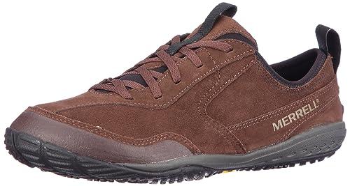 Merrell Edge Glove J38475 - Zapatillas de Cuero Nobuck para Hombre, Color marrón, Talla 44: Amazon.es: Zapatos y complementos
