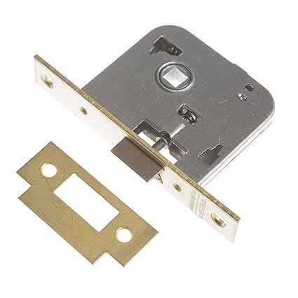 Tesa Assa Abloy, 200540HL Cerradura de embutir para puertas de madera, Entrada 40mm,