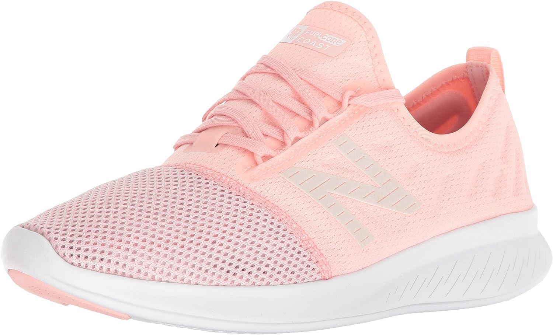 New Balance FuelCore Coast V4, Zapatillas de Running para Mujer, Rosa (Himalayan Pink/Conch Shell/White La4), 41 EU: Amazon.es: Zapatos y complementos