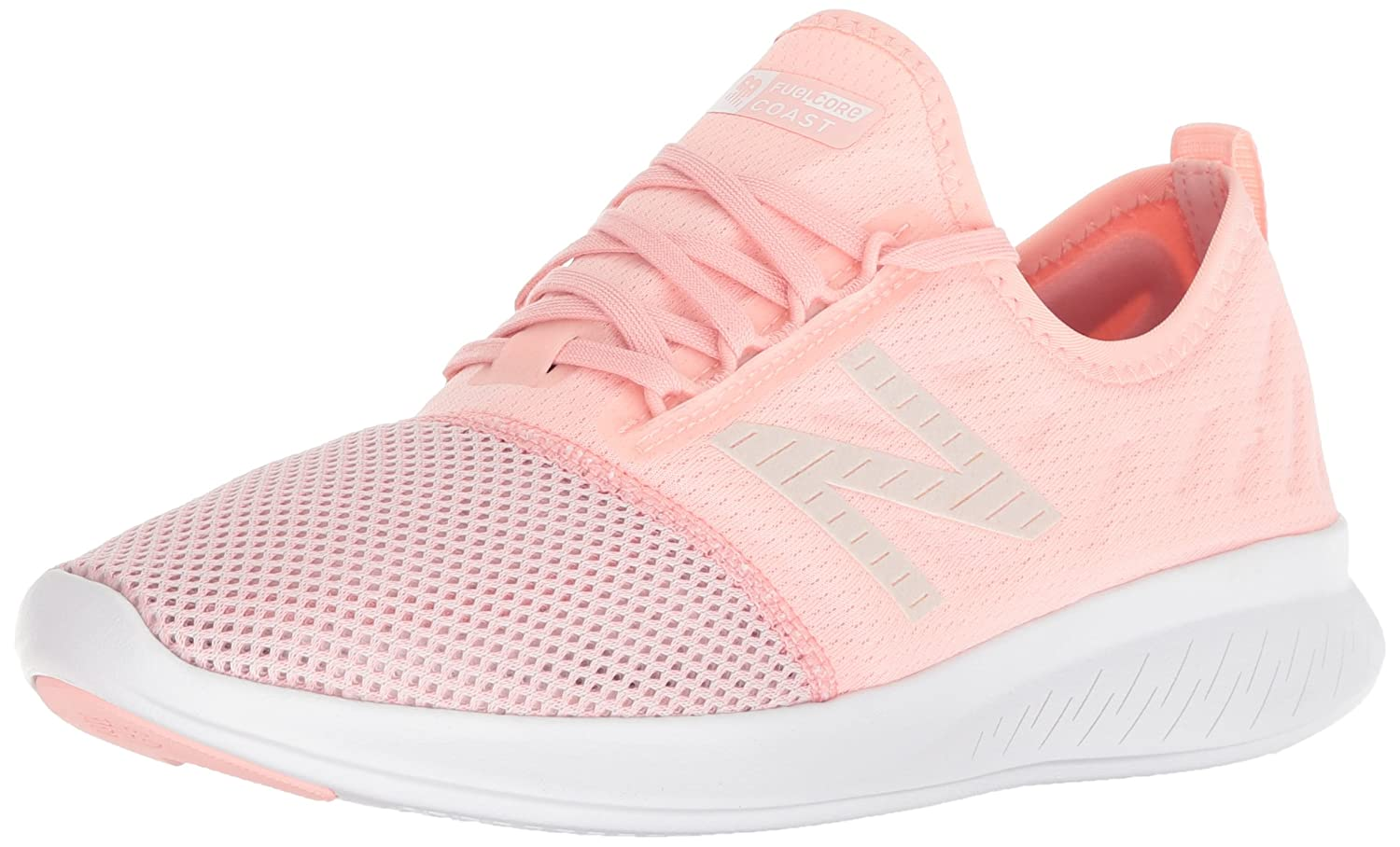 New Balance Women's Coast V4 FuelCore Running Shoe B075R7J4GB 7.5 D US|Himalayan Pink