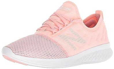 New Balance Women's Coast V4 FuelCore Running Shoe, Himalayan Pink, 9 D US