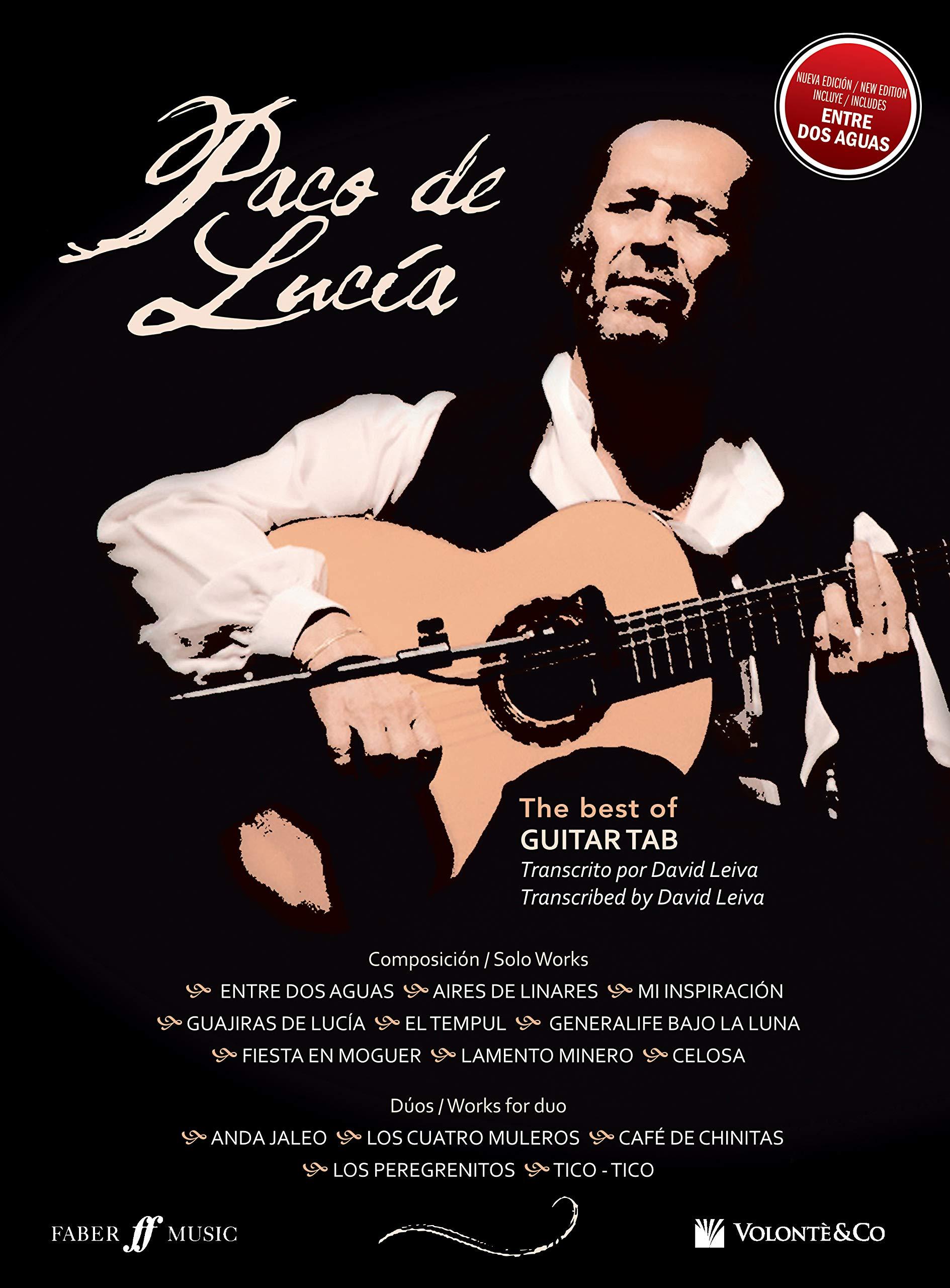 Paco De Lucia. Best of guitar. Ediz. inglese e spagnola Musica ...