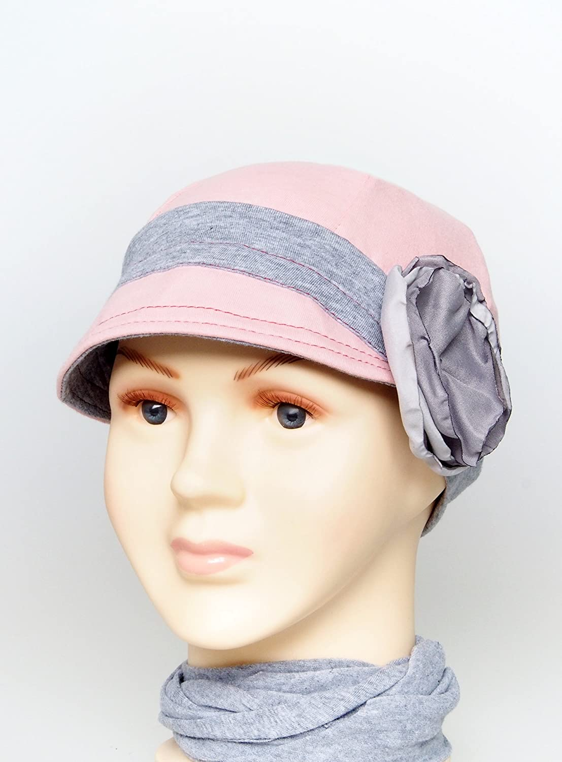 Cancer hat for girls Child Cozy Cap Comfort Chemo headwear children chemo cap alopecia cotton beanies for child