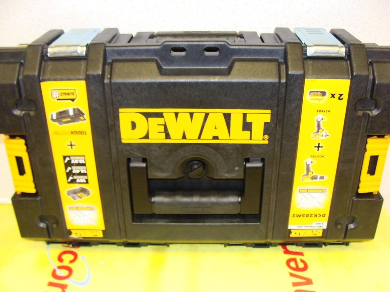 /r/ígida malet/ín 2/x ah pilas Dewalt atornillador de impacto / Dck285/m2/18/v xr li-ion combi taladro