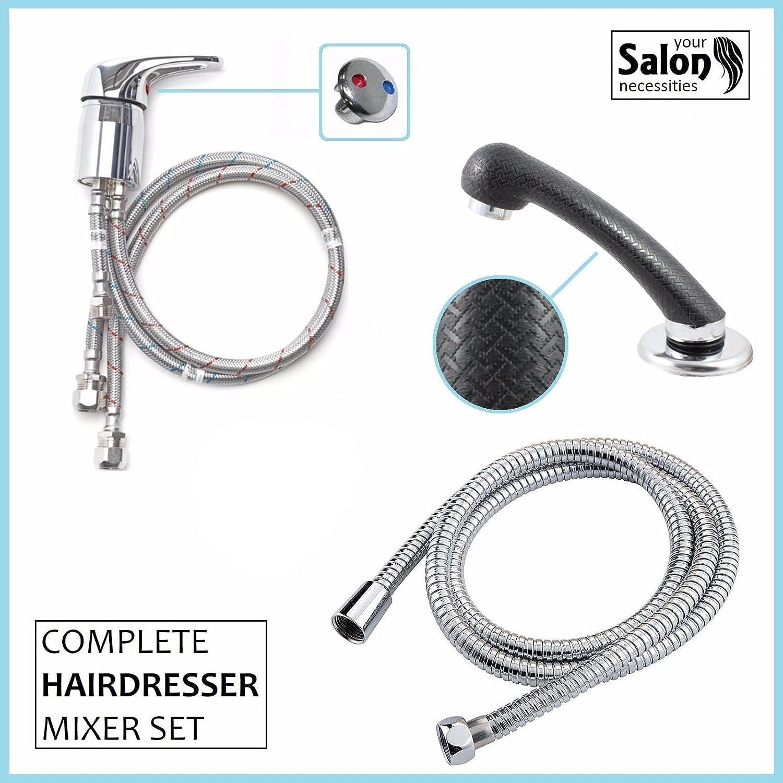 Mixer Taps Sprayer Hairdressing Salon Basin showerhead Sink Tap mixertap set UK
