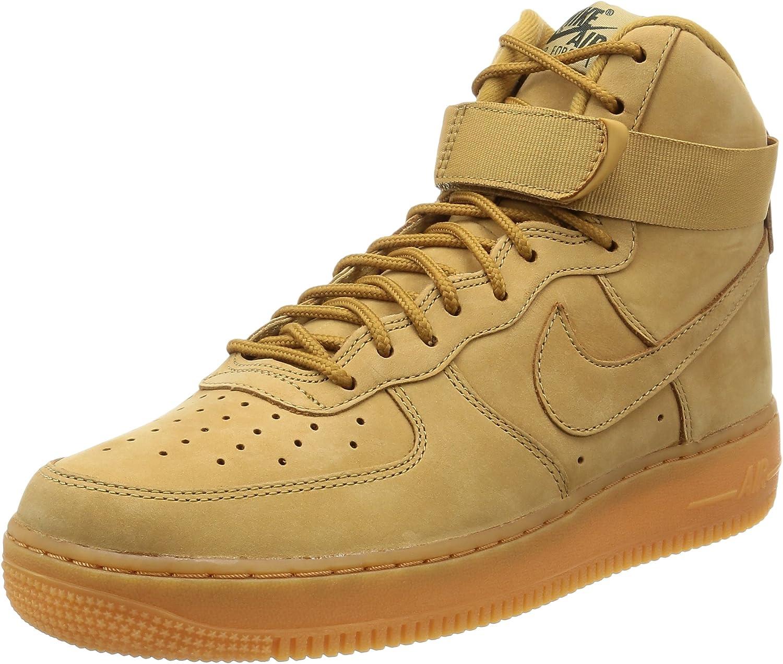 Nike Mens Air Force 1 High Flax 882096