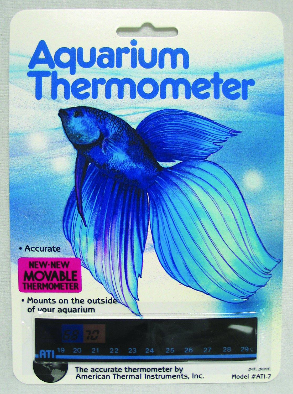 Aquarium Thermometer Ati - 7 - Part #: A-1007 American Thermal BC002008