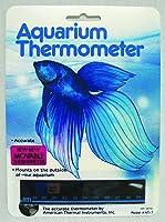 American Thermal Horizontal Aquarium Thermometer