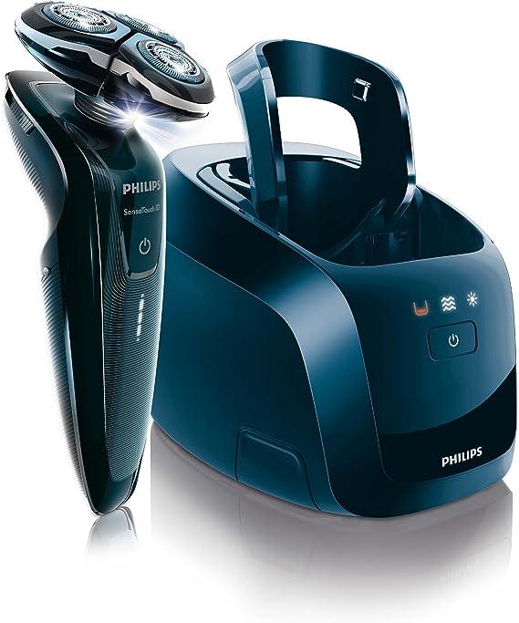 Philips RQ1250CC Pantalla de batería de 3 niveles Jet Clean Afeitadora eléctrica - Maquinilla de afeitar: Amazon.es: Salud y cuidado personal