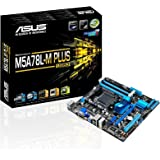 ASUS M5A78L-M Plus/USB3 DDR3 HDMI DVI USB 3.0 760G AM3+ based Motherboard,Black