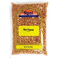 Rani Peanuts, Raw Whole With Skin (uncooked, unsalted) 6lbs (96oz) Bulk ~ All Natural | Vegan | Gluten Free Ingredients | Fresh Product of USA ~ Spanish Grade Groundnut / Redskin