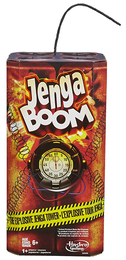 Amazoncom Jenga Boom Toys Games