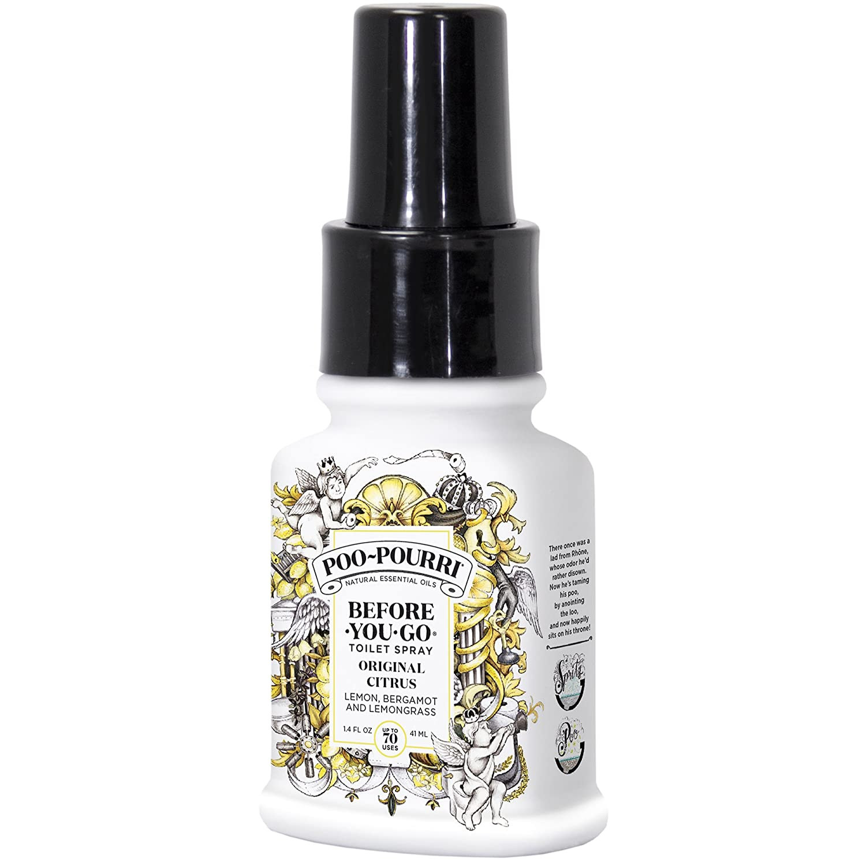 Poo-Pourri Before-You-Go Toilet Spray, Original Citrus Scent, 1.4 oz