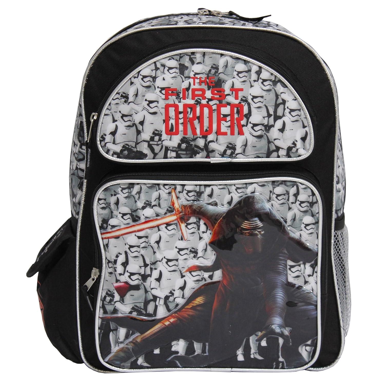 Kylo Ren Disney Star Wars The First Order Black 16 Backpack