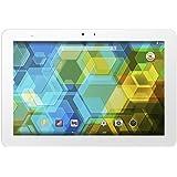 BQ Edison 3 - Tablet de 10.1 pulgadas (WiFi, Bluetooth 4.0, 16 GB, 2 GB de RAM, Android KitKat 4.4), blanco