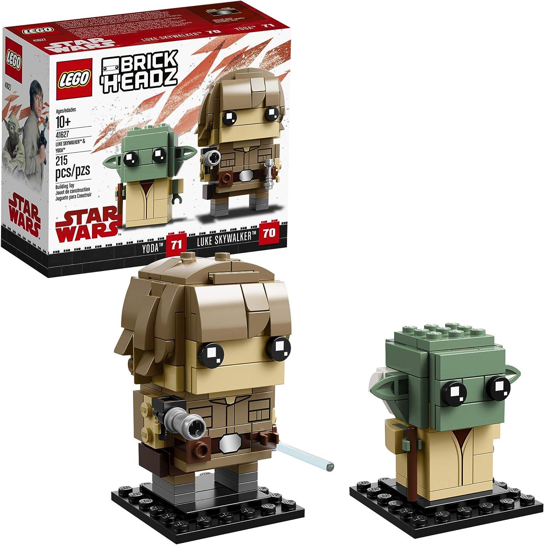 LEGO BrickHeadz 41627 Building Kit, Multicolor