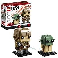 LEGO Brickheadz, Star Wars, Luke Skywalker y Yoda 41627