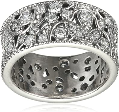 anello a fascia argento donna pandora