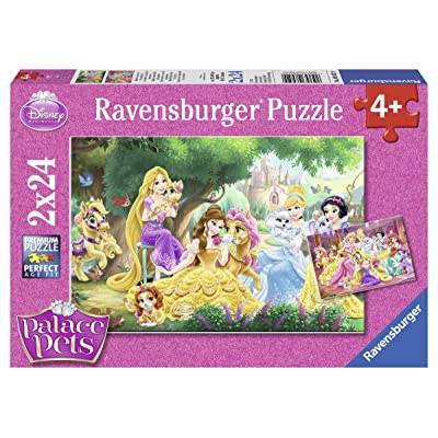 Ravensburger Best Friends of The Princess Jigsaw Puzzle (2 x 24 Piece): Toys & Games