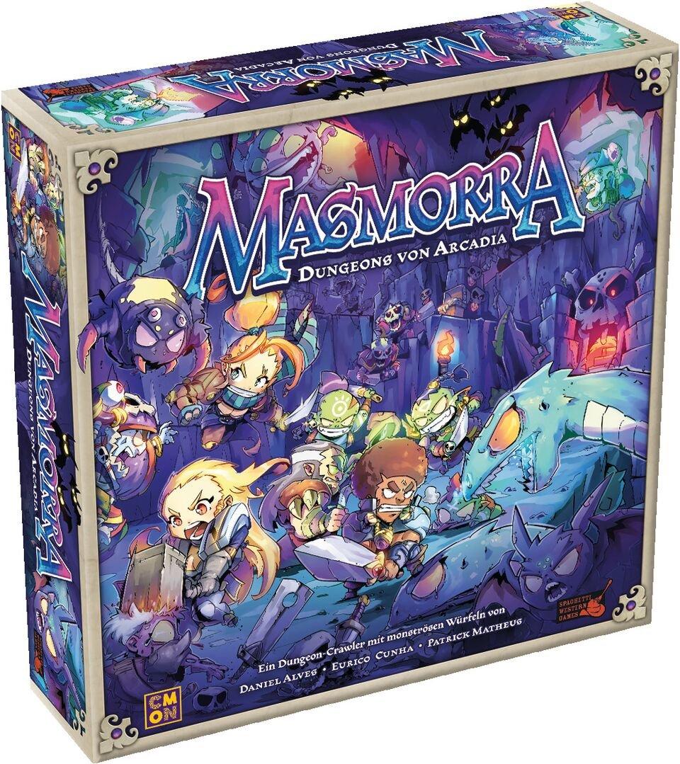 Asmodee CMN0033 Masmorra  Dungeons di Arcadia, Gioco di Base