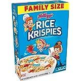 Kellogg's Rice Krispies Breakfast Cereal, Original, Fat-Free, Family Size, 24 oz Box