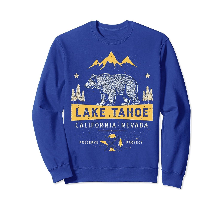 Lake Tahoe Sweatshirt California Nevada Vintage Bear Shirt-TH