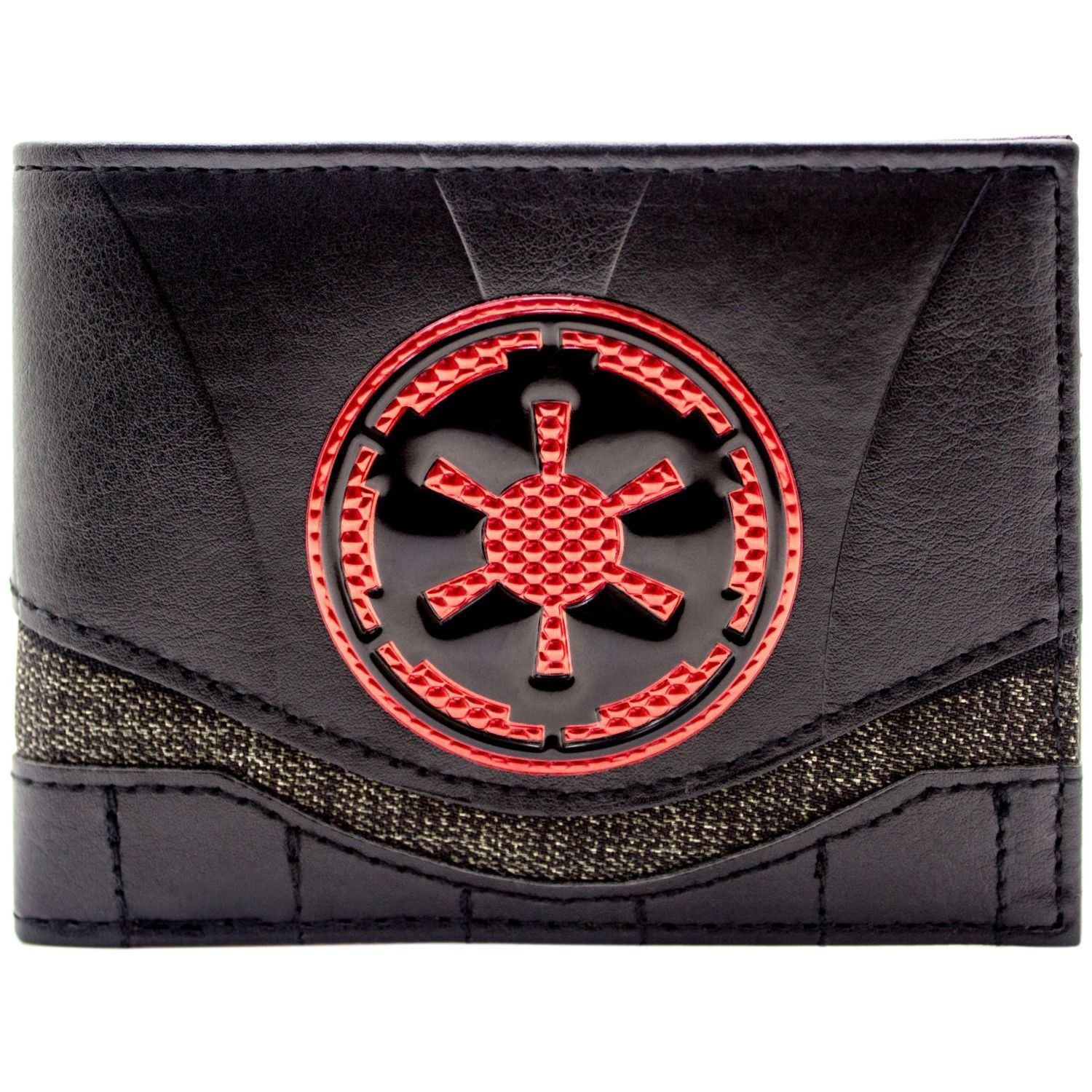 Cartera de Star Wars Red Imperial Logo Negro The Force Awakens 30954