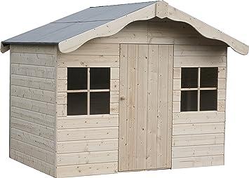 Decor et jardin – Caseta de madera Aurelie 182, 4 x 130 x 159 cm – Paredes 12 mm: Amazon.es: Jardín