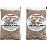 CookinPellets 40 Lb Perfect Mix Hickory, Cherry, Hard Maple, Apple Wood Pellets (2 Pack)